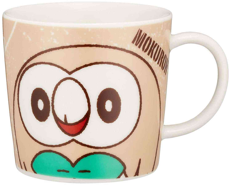 「 ポケットモンスター サン&ムーン 」 モクロー フェイス マグカップ S 子供用