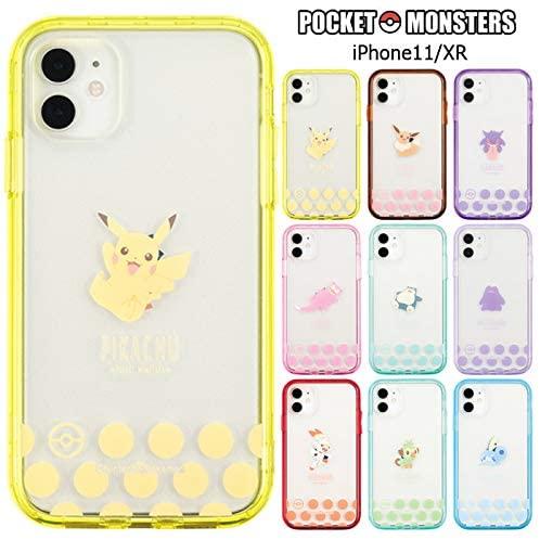 Phone11 iPhoneXR ポケットモンスター IJOY クリア ケース