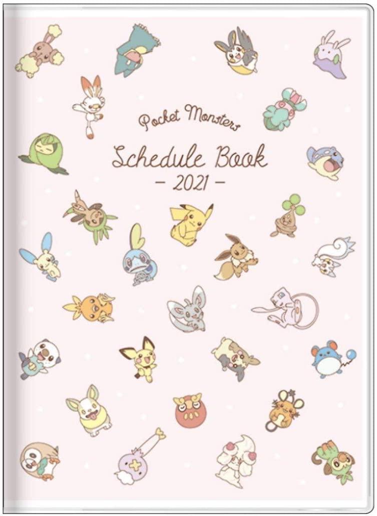 サンスター文具 ポケモン 手帳 2021年 A6 マンスリー チラシ S2952491 2020年 10月始まり