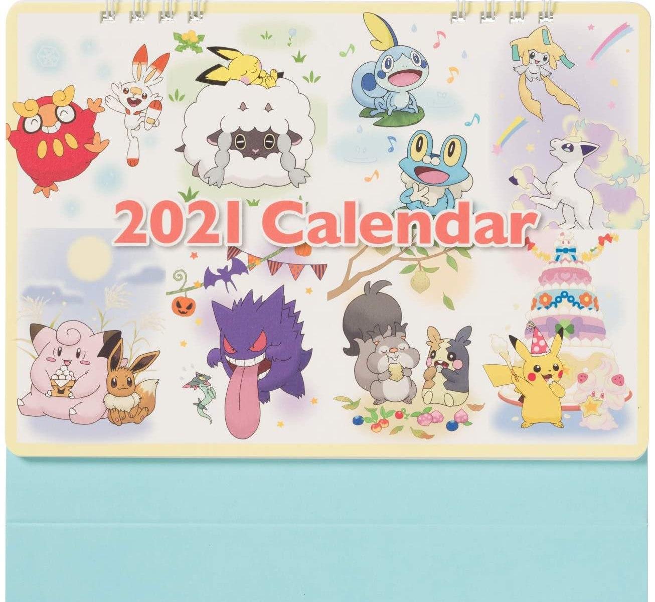 ポケモンセンターオリジナル ポケモンセンターオリジナル卓上カレンダー2021