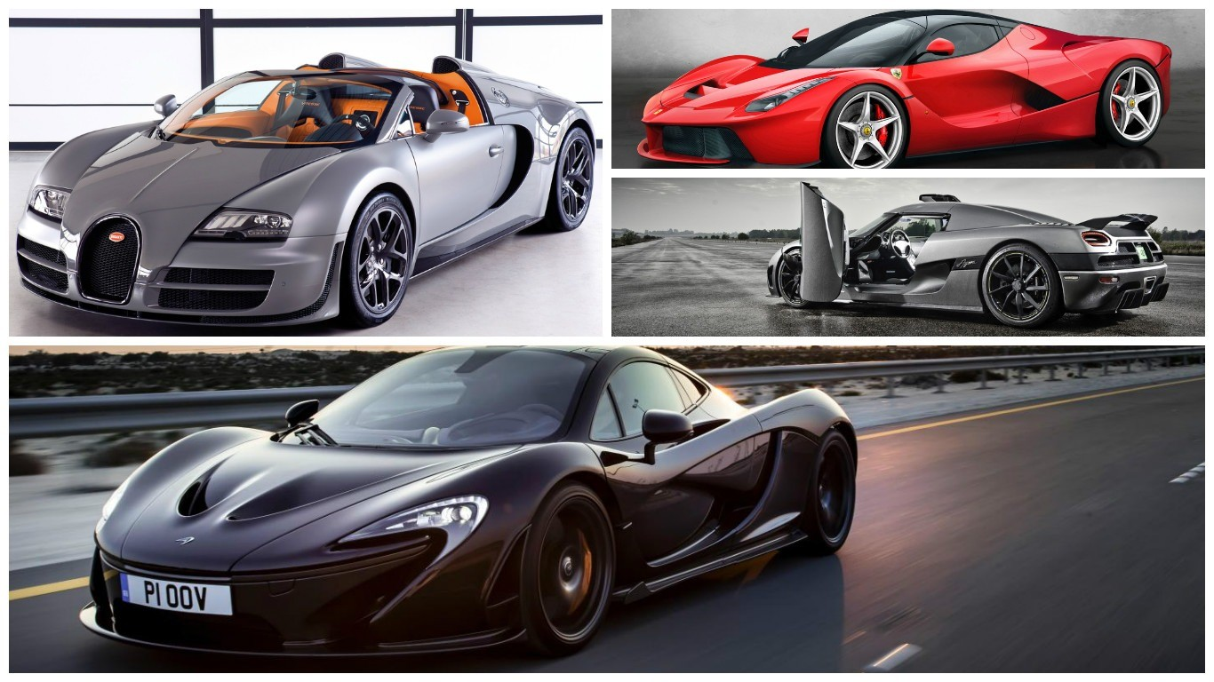 The most expensive car brand names ever – See if you can afford it!