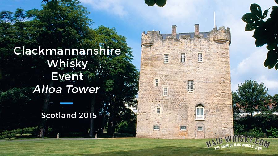 Clackmannanshire Whisky Event Alloa Tower, Scotland 2015