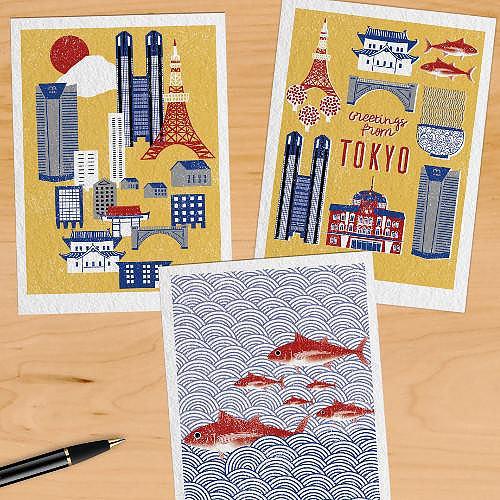 Tokyo Postcards