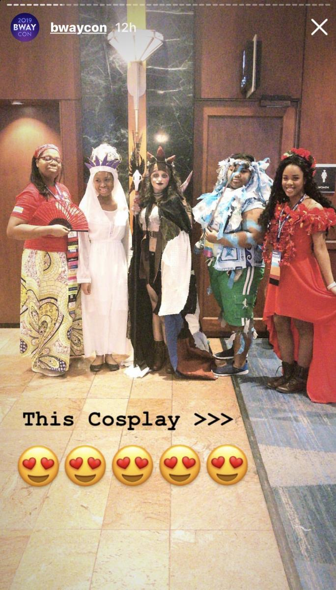 Once On This Island Cosplay