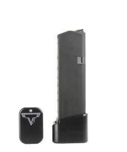 TTI Glock 19/23 Base Pads - +4/5 - Black