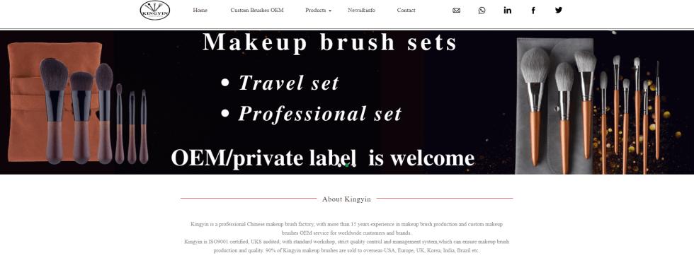 Kingyin makeup brush
