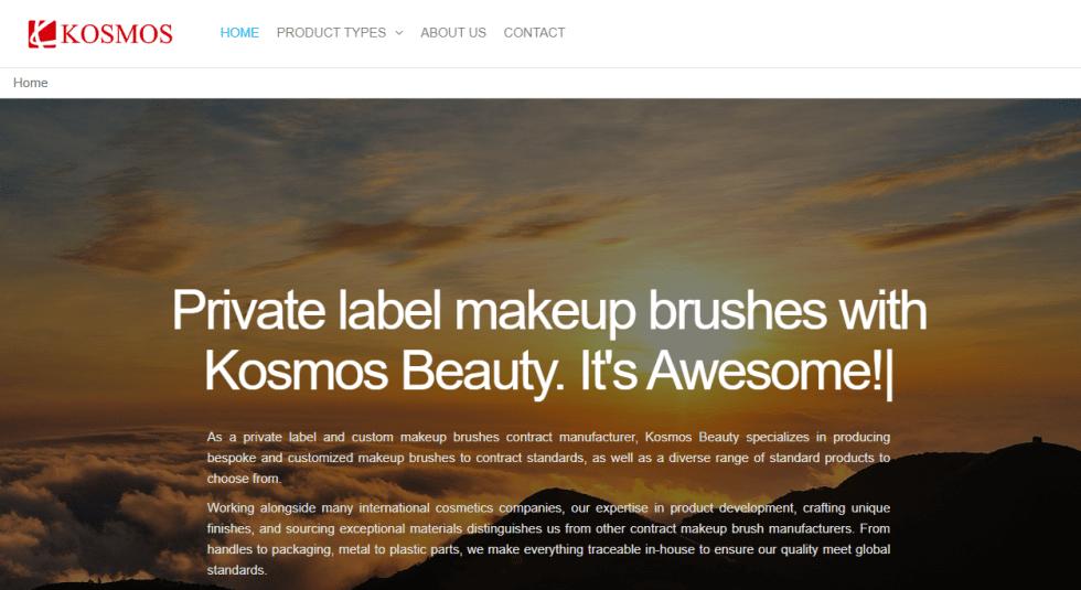 Kosmos makeup brush