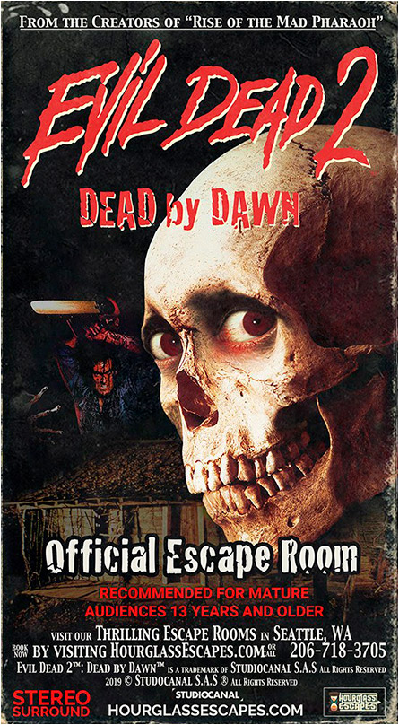 Evil Dead Escape Room