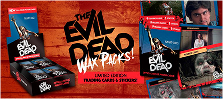 The Evil Dead trading cards