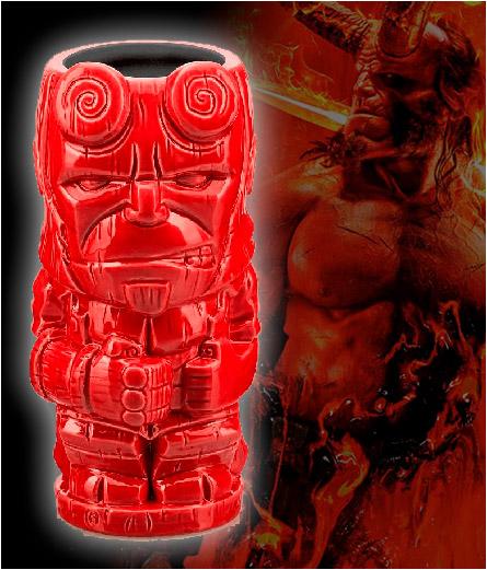 Hellboy Tiki Mug
