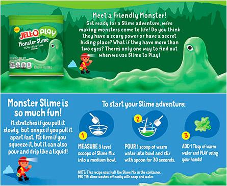 Jell-O Monster Slime