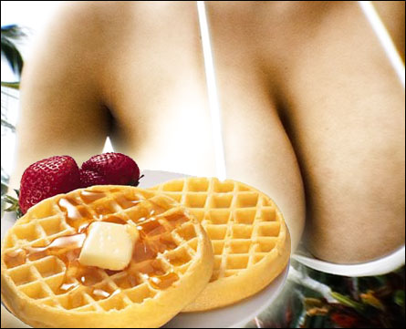 Boobies 'n Waffles