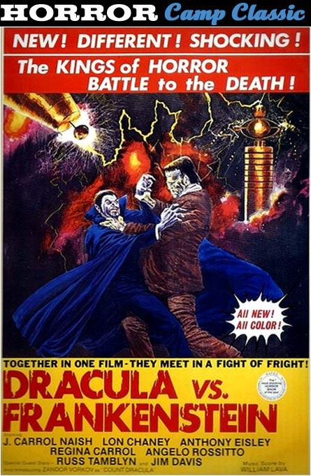 Dracula vs. Frankenstein