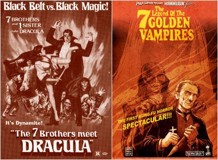 The Legend of the Seven Golden Vampires