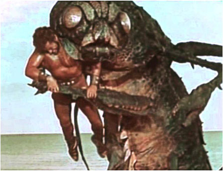 Hercules Vs. The Sea Monster