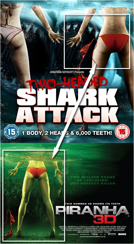 Two-Headed Shark Attack, Piranha 3-D