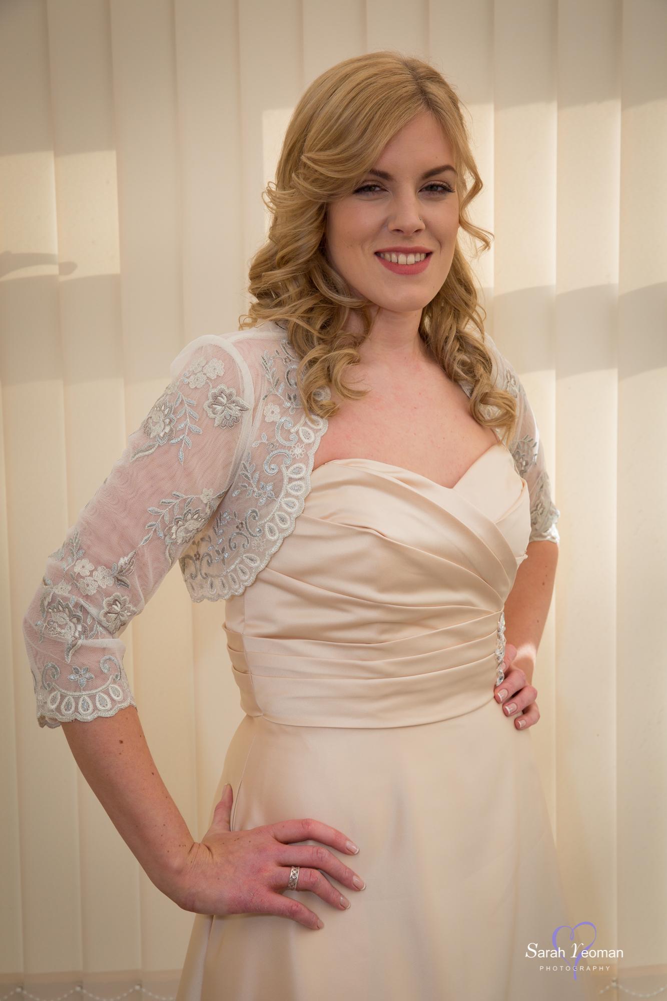 Bridesmaid soft curls gallery