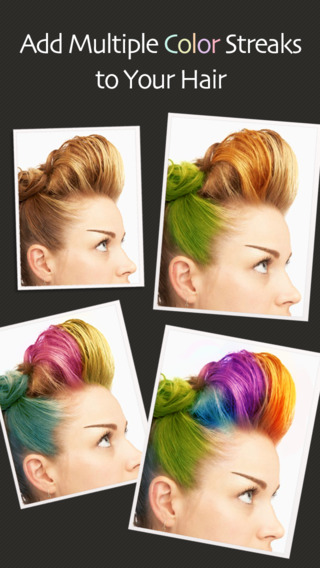 Astonishing Hair Color Changer Apps Treat Yourself With A Makeover For Free Short Hairstyles Gunalazisus