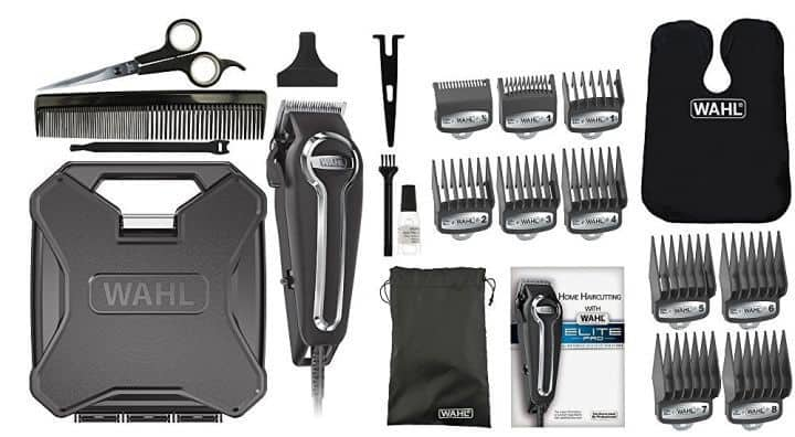 Wahl Elite Pro high performance haircut kit #79602 - all your home haircut needs in one place.