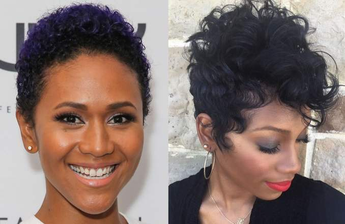 Image Result For Hairstyle For Short Black Hair
