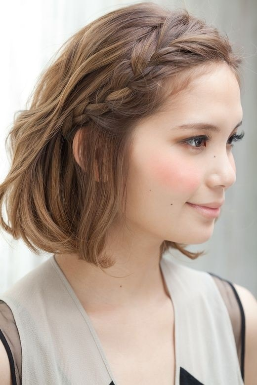 Short Hairstyles For Women With Braids