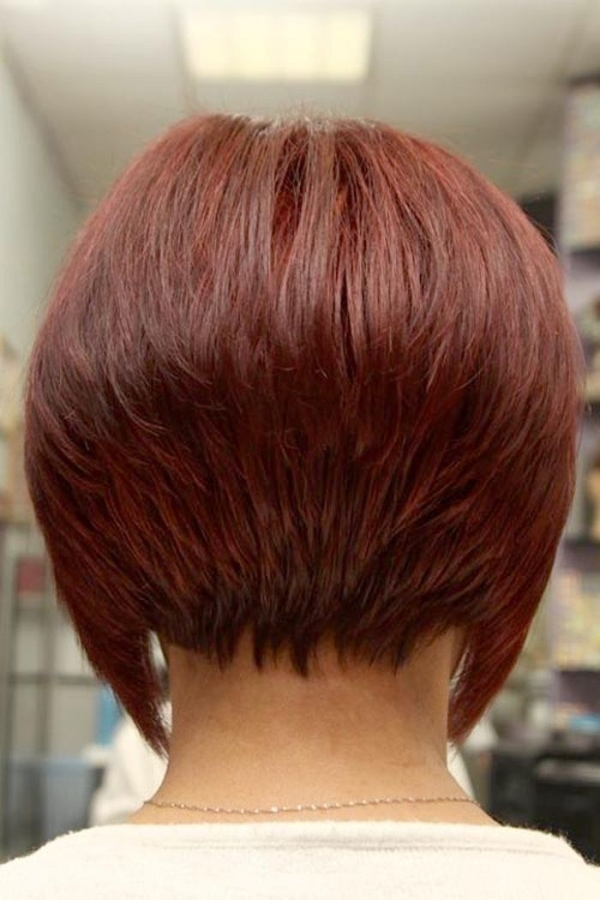 Short Hairstyles For Women Back View