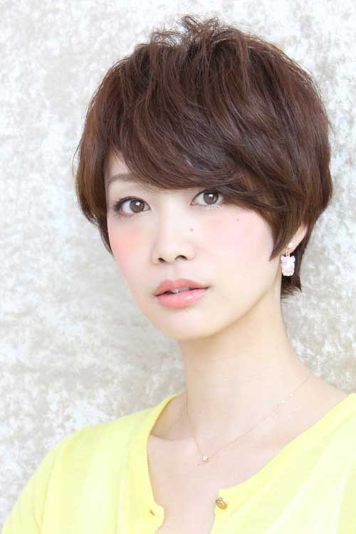 Short Hairstyles For Korean Women