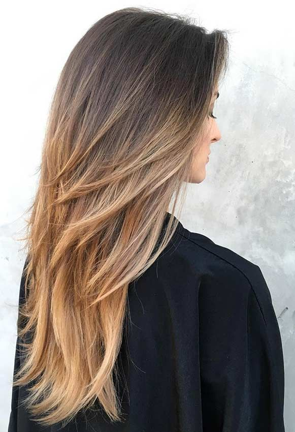 Layered Cuts Long Hairstyles For Women
