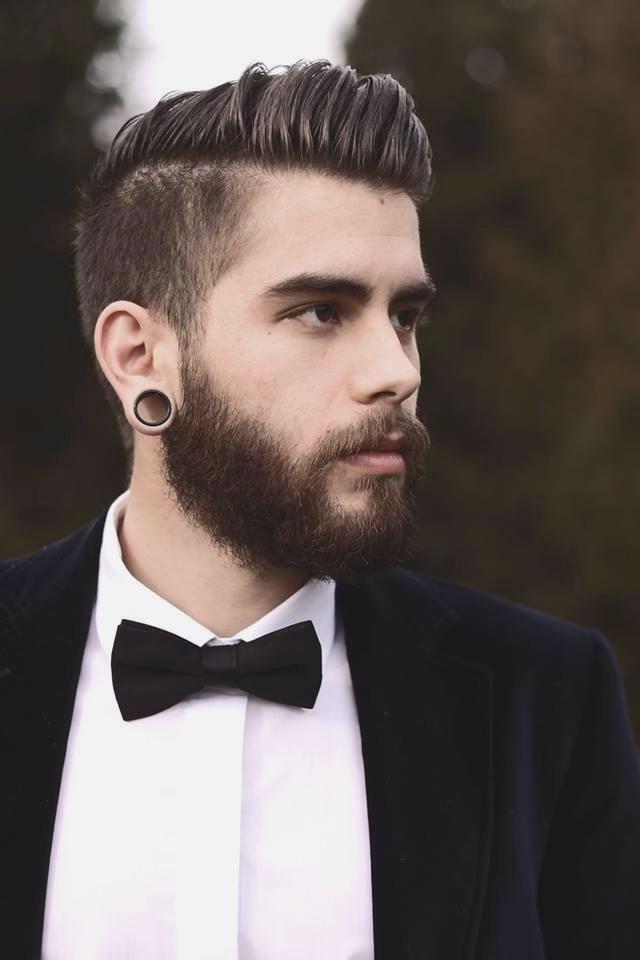 Undercut Pompadour Haircut