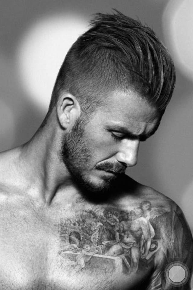 David Beckham Undercut Hairstyle