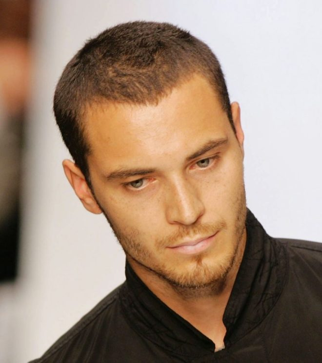 Very Short Haircuts For Men With Receding Hairline