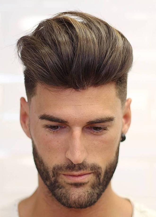 High Volume Quiff Hairstyle
