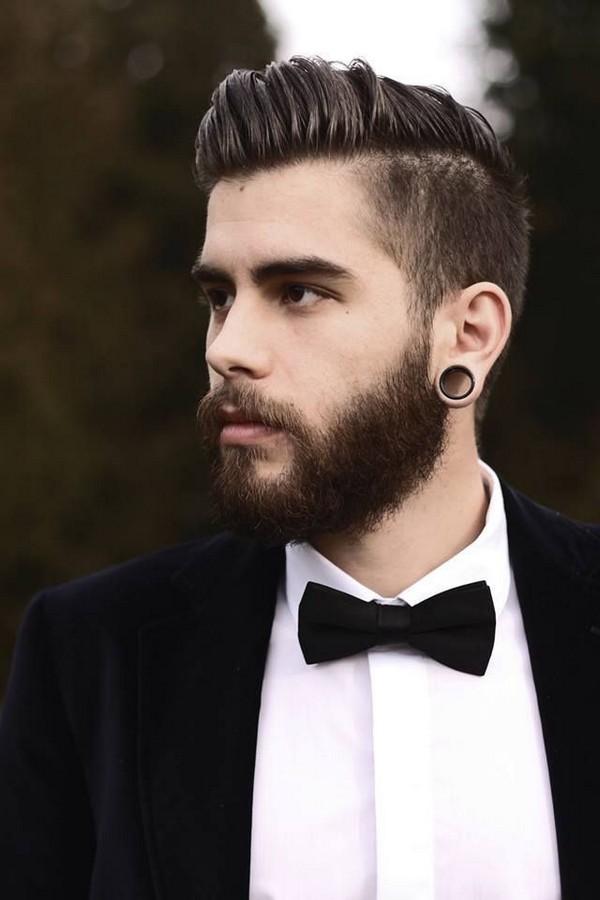 Pompadour Undercut Hairstyle