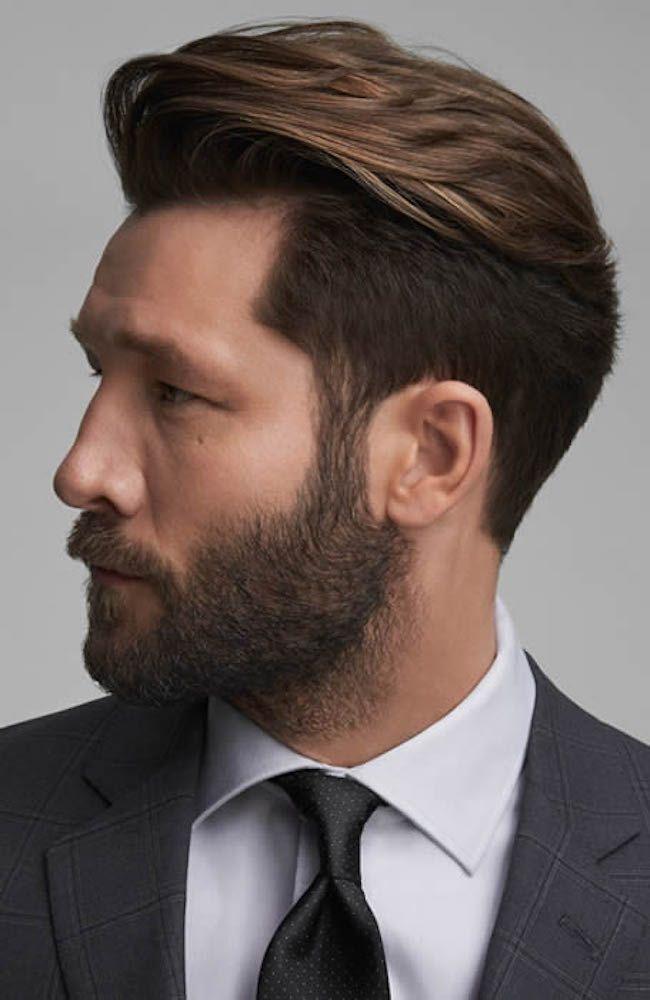 High Pompadour Quiff Hairstyle