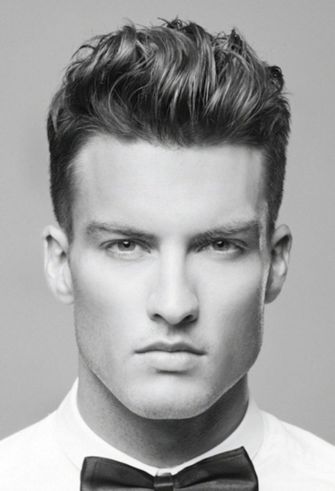 Spiky Short Hipster Hairstyle