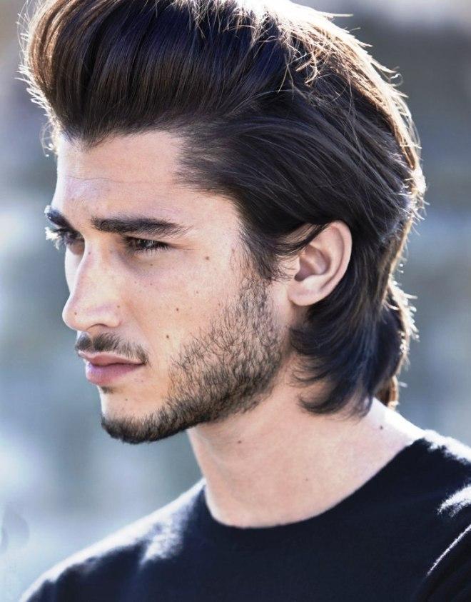 Medium Quiff Hairstyle