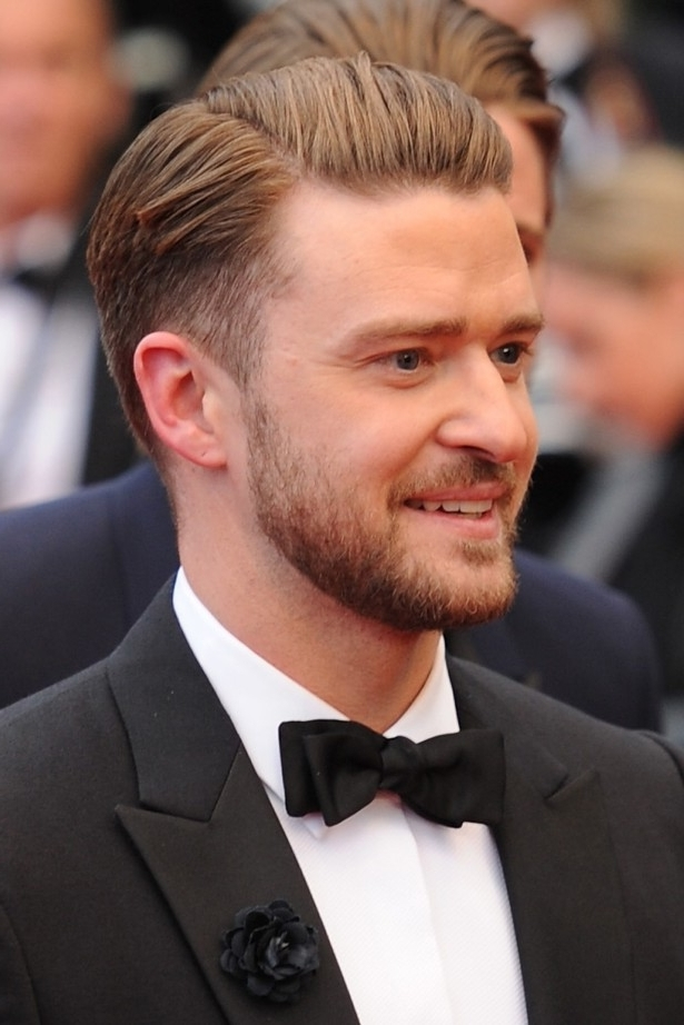 Side Parting Comb Over Hairstyle