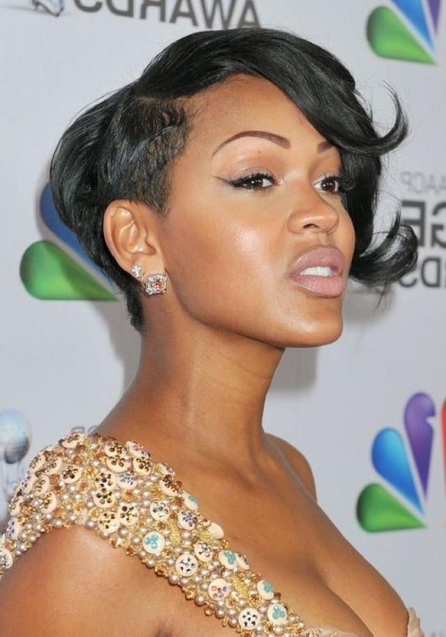 Layered Side Fringe Hairstyle