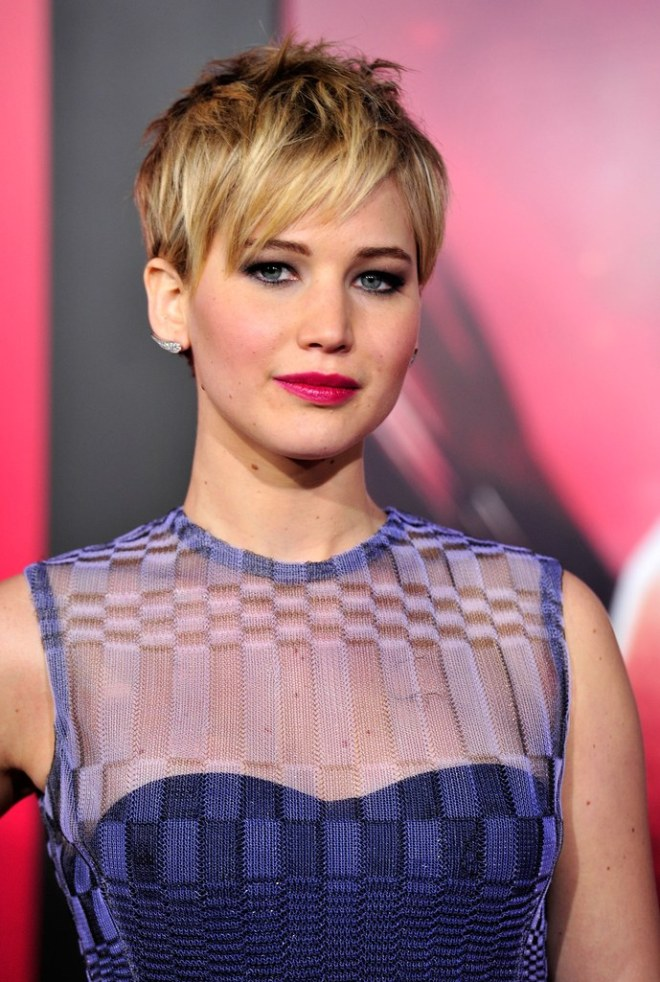 Messy Pixie Cut Hairstyle with Bangs