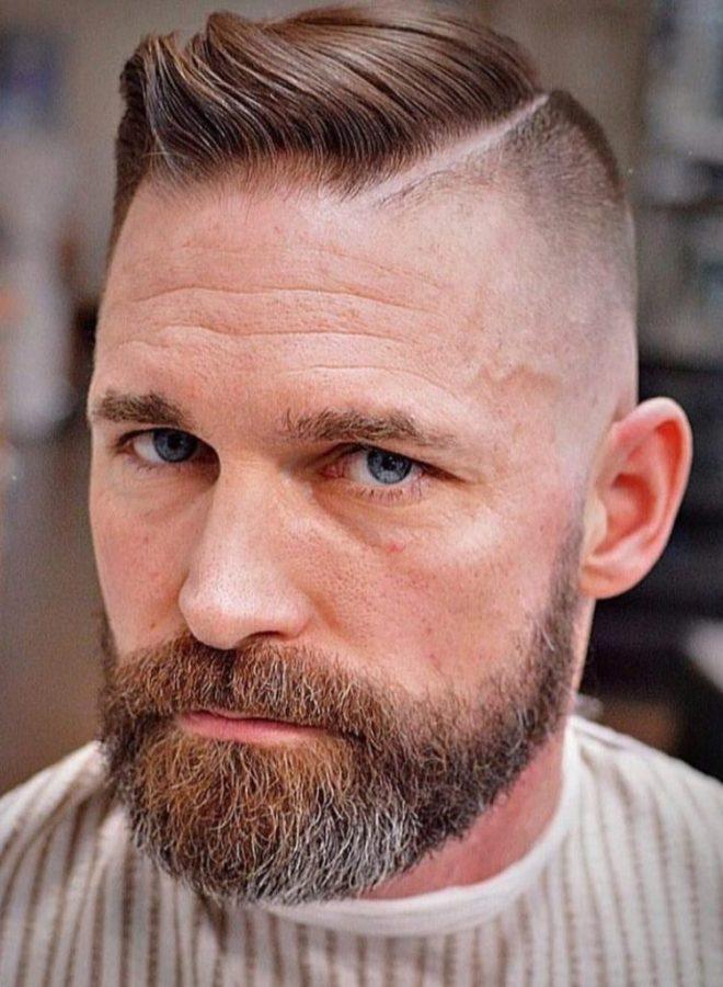 Razor Side Part Fade Haircut
