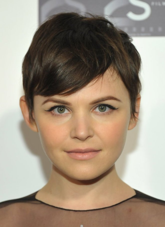 Wavy Pixie Cut Feathered Hairstyle