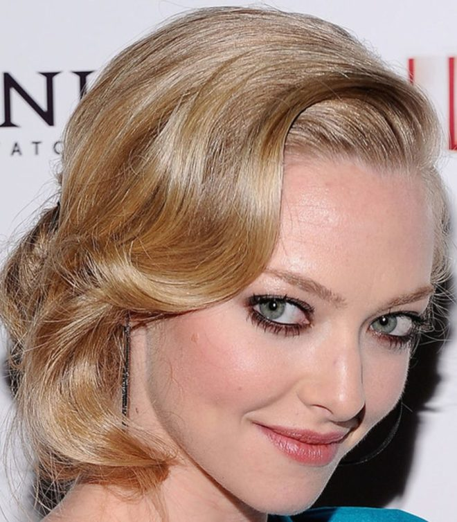 Side Swept Layered Hairstyle