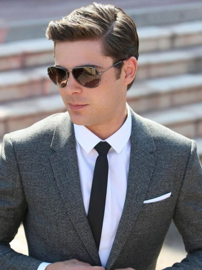 Formal Side Part Hairstyle