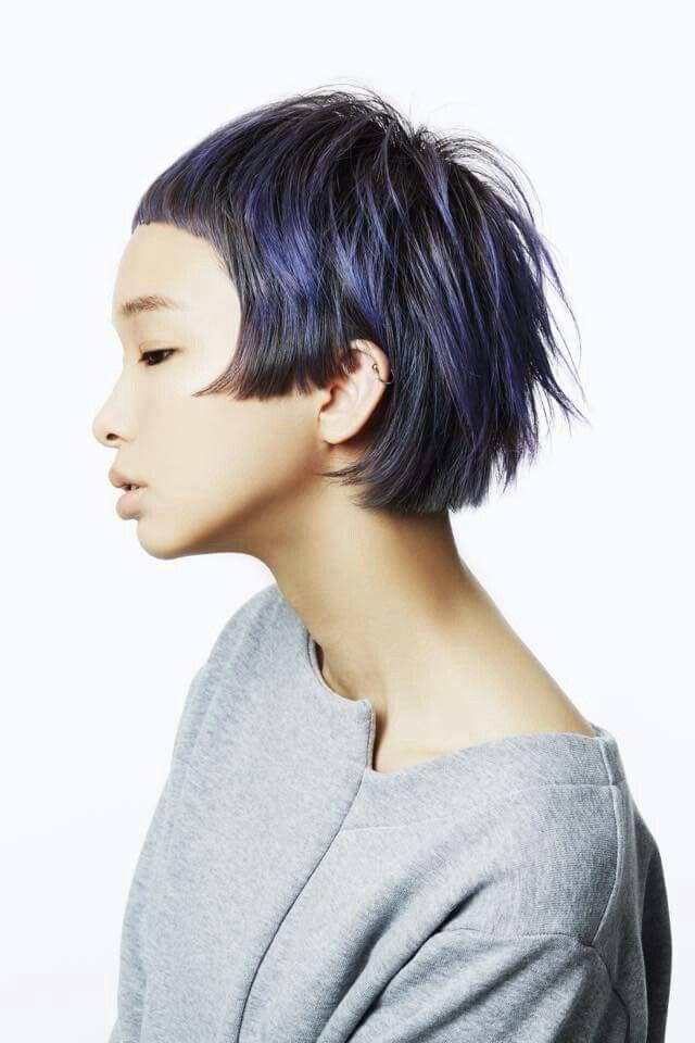 Razor Cut Vintage Hairstyle