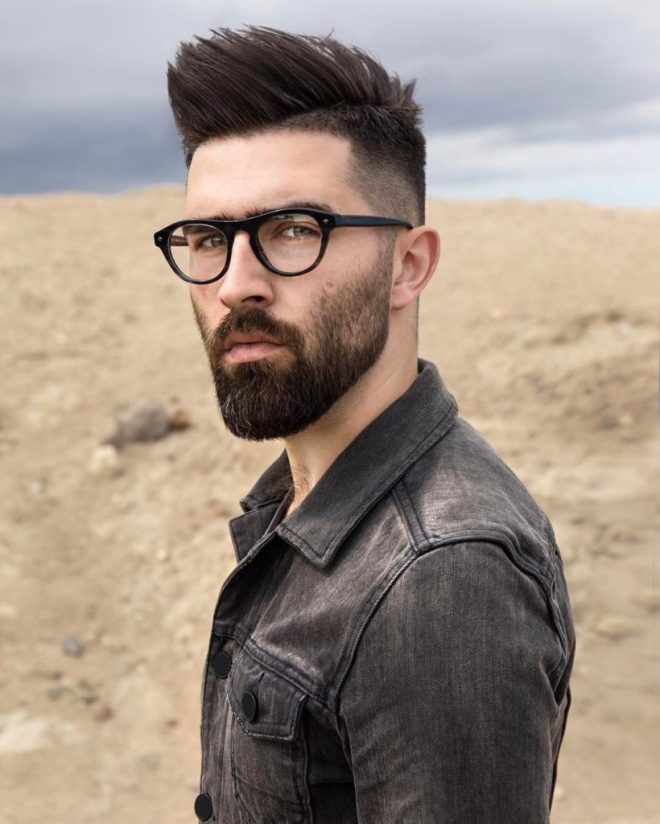 Skin Fade Quiff Hairstyle