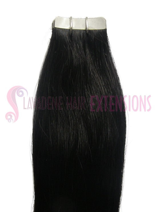 1 BLACK TAPE HAIR EXTENSIONS STRAIGHT