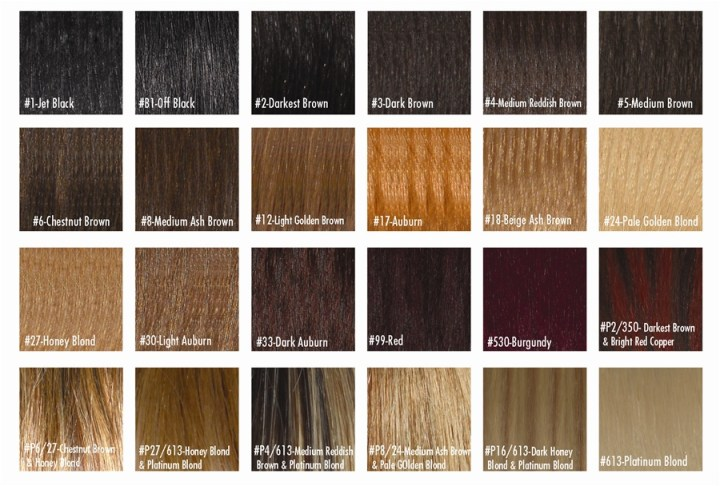 Remy Weave Hair Color Chart Todayss