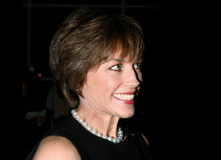 Dorothy Hamill Comfortable Short Wash And Go Hairstyle