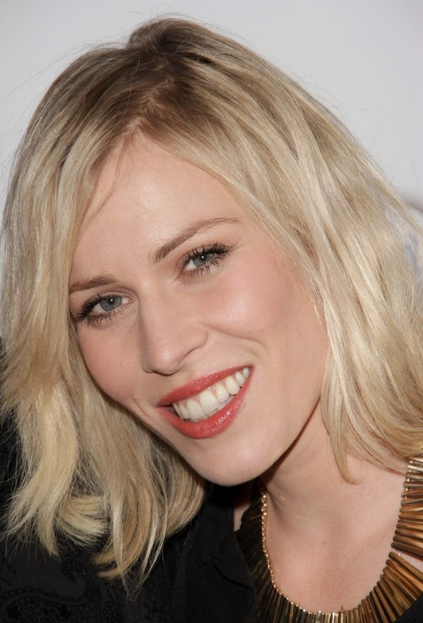 Natasha Bedingfield Medium Above The Shoulders Hairstyle