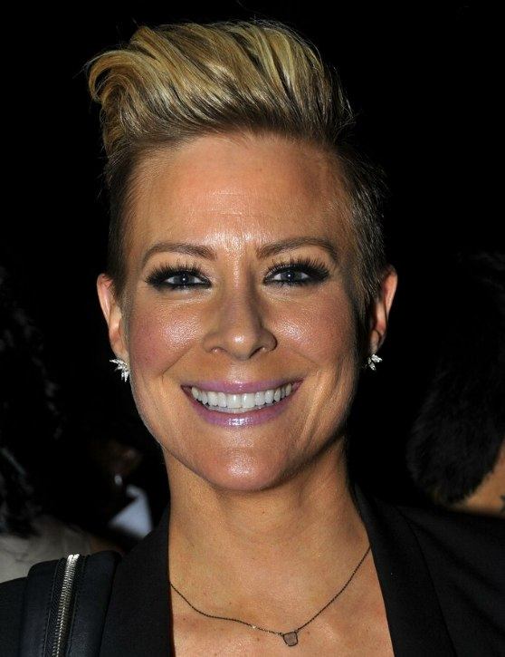 Brittany Daniel Very Short Boyish Haircut With The Sides